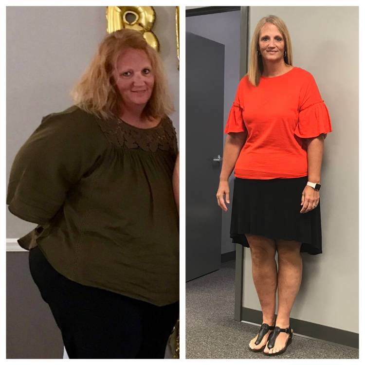 Pam Tidwell's Inspirational Journey to Losing the Weight.