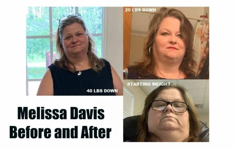 "Melissa Davis ""I Will Never Look Back."""