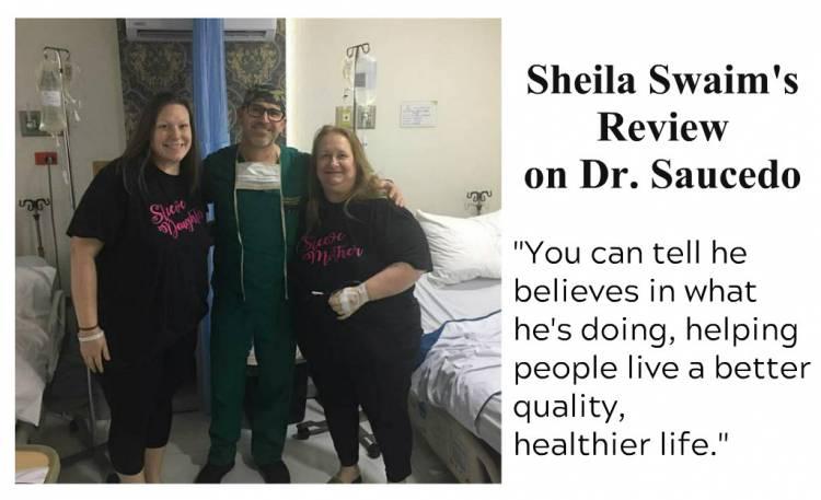 Sheila Swaim Says That Dr. Saucedo Really Cares