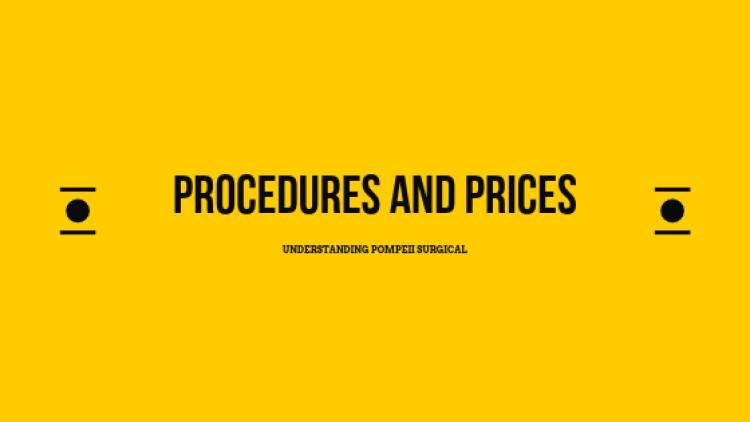 Understanding Procedures and Pricing