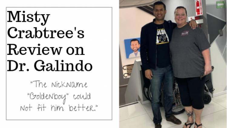 """Misty Crabtree says, """"The Nickname Goldenboy Could Not Fit Him Better."""""""