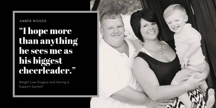Amber Woods Was Her Husband's Biggest Cheerleader