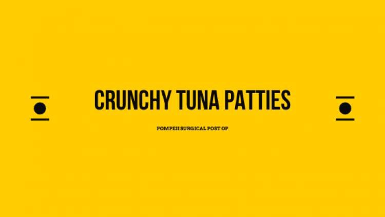 Crunchy Tuna Patties