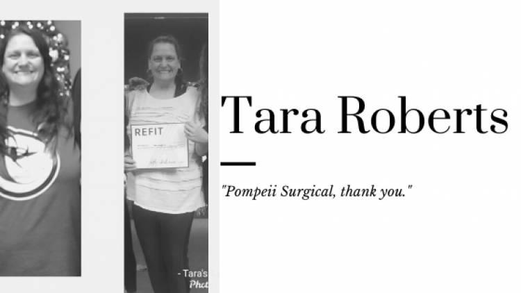 """Tara Roberts, """"Pompeii Surgical, Thank You."""""""
