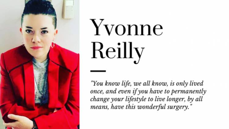 Yvonne Reilly Shares Her Story in the Hopes to Help Someone Else With Their Battle.